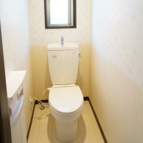 【設備】【壁紙】トイレ